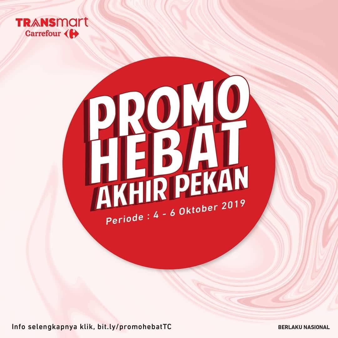 Diskon Katalog Promo Carrefour Weekend Promo Periode 4-6 Oktober 2019