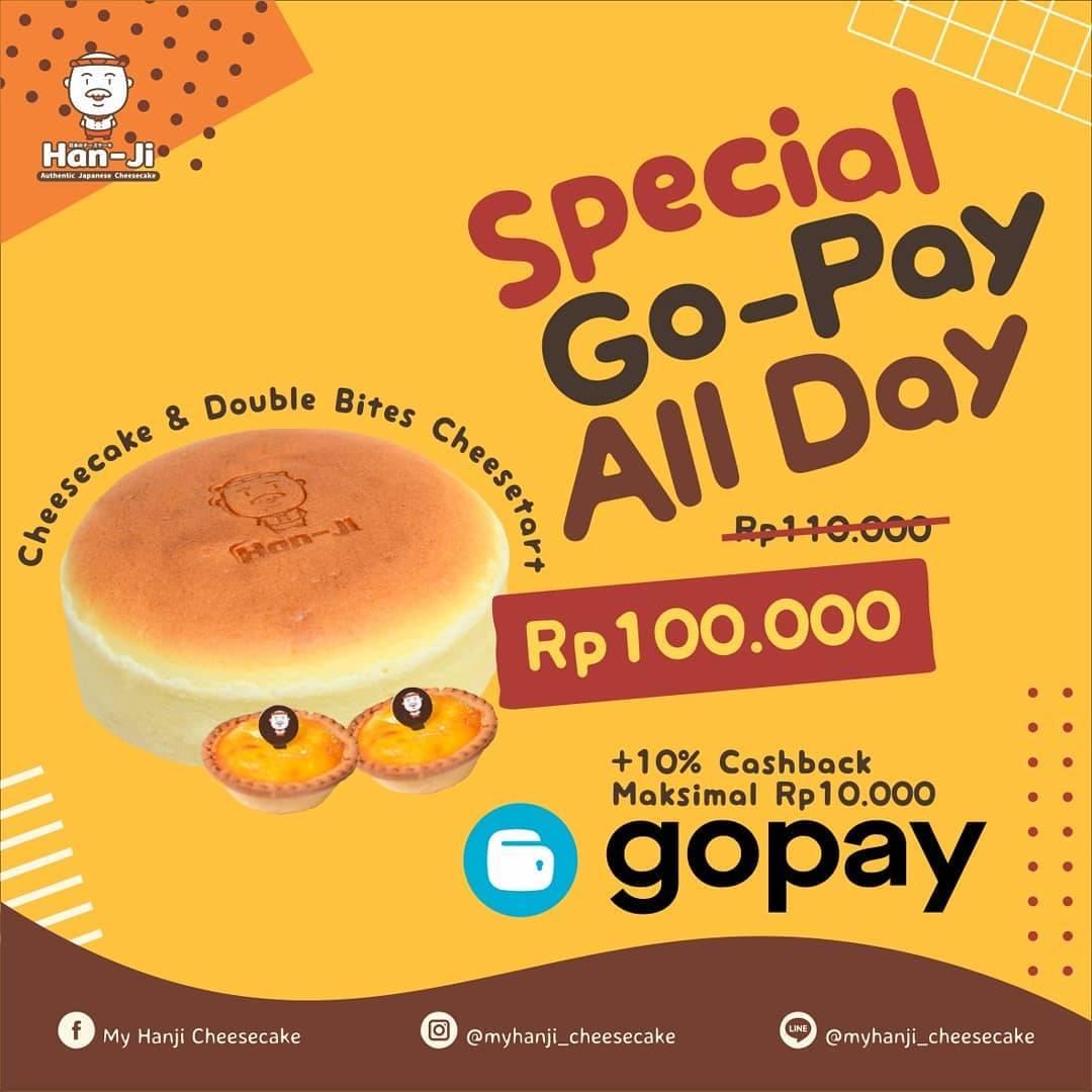 Diskon My Han-Ji Cheese Cake Promo Original Cheesecake Dan Double Bites Cheesetart Hanya Rp.100.000