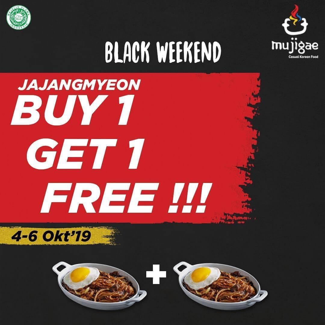 Mujigae Promo Buy 1 Get 1 Jajangmyeon Free