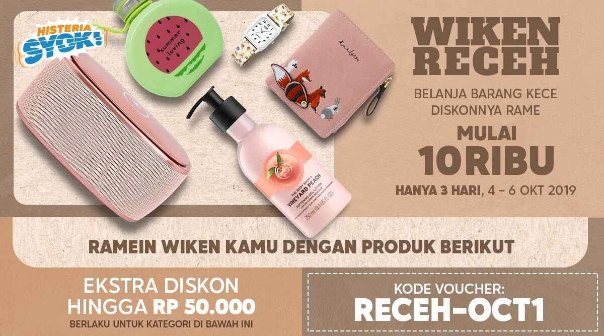 Blibli.com Promo Wiken Receh! Belanja Barang Kece Mulai Rp 10 Ribu!