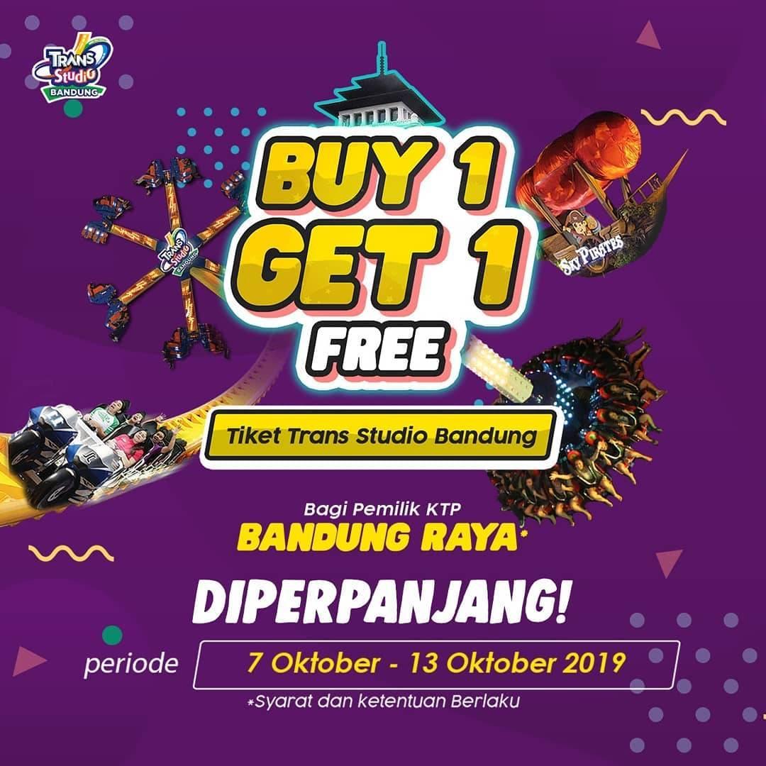 Trans Studio Bandung Promo Beli 1 Gratis 1 Khusus Pemegang Ktp Kota Bandung