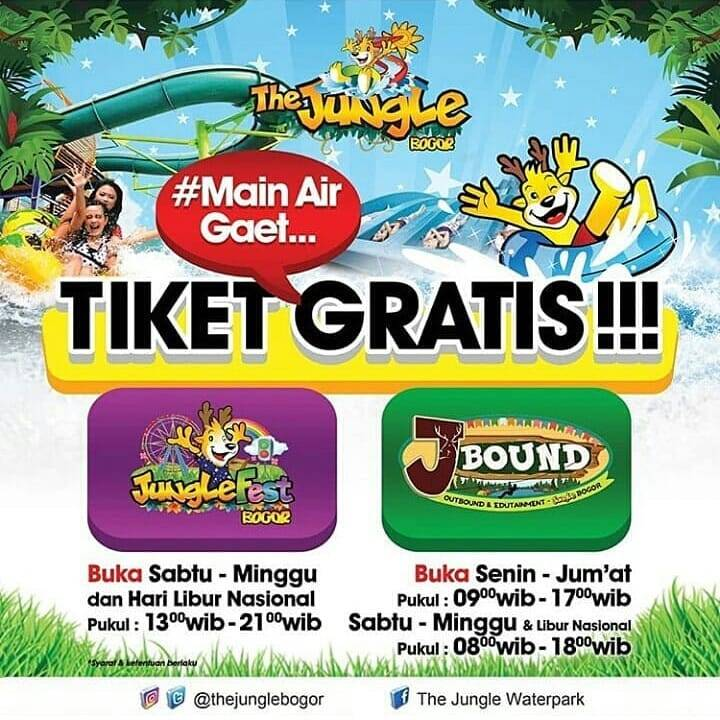 Main ke The Jungle Gratis Tiket Ke Junglefest Dan J-Bound
