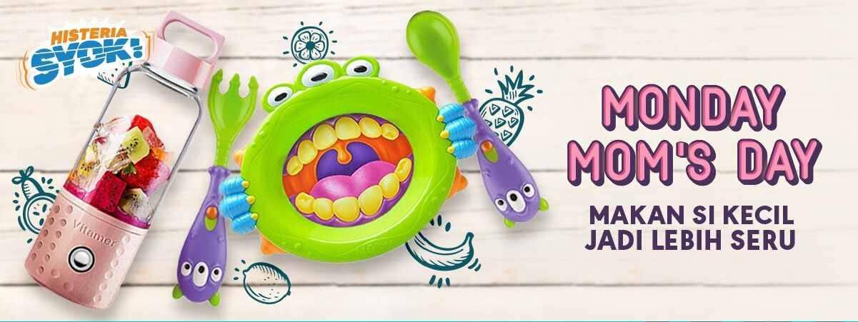 Blibli.com Monday Mom's Day! Extra Diskon up to 7% Untuk Semua Produk Ibu & Anak!