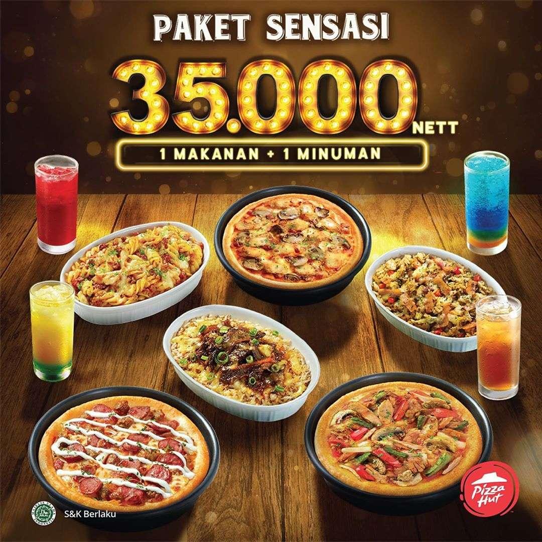 Pizza Hut Promo Paket Sensasi, Harga Spesial Mulai Rp.35.000
