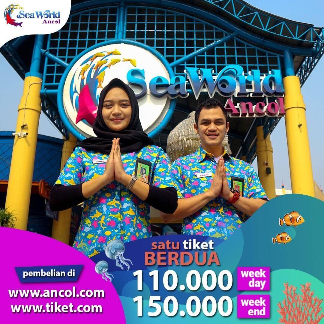 Seaworld Ancol Promo Satu Tiket Berdua, Harga Spesial Mulai Rp.110.000