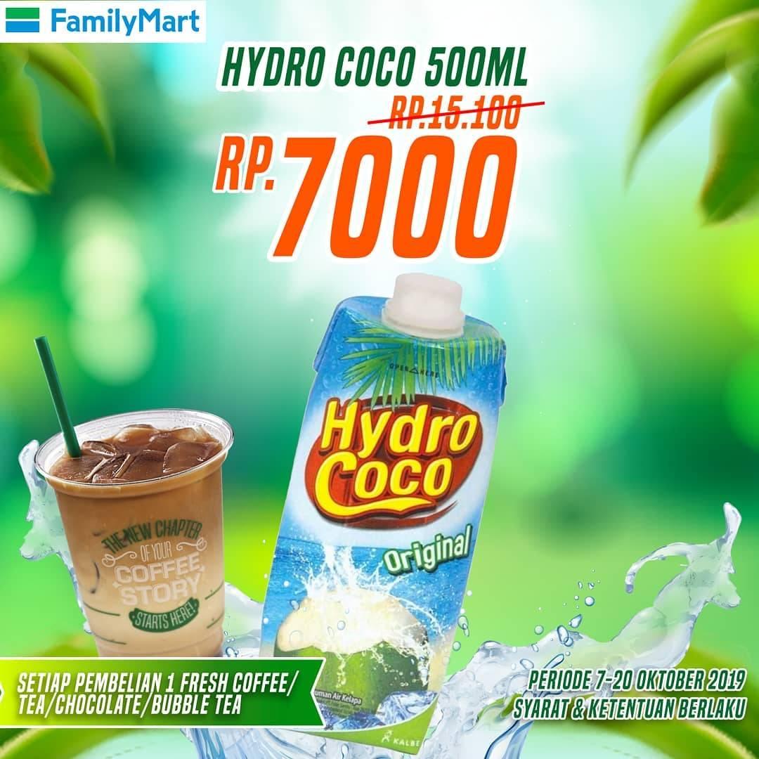Familymart Promo Tebus Murah Hydro Coco/500ml Hanya Rp. 7.000