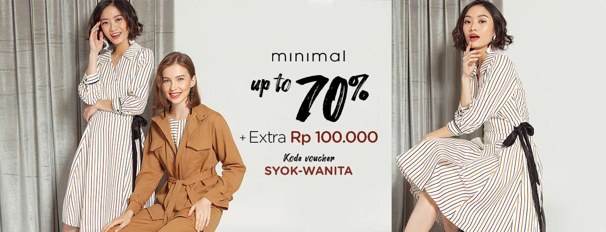 Blibli.com Promo Minimal Discount Up To 70% + Extra Rp 100.000!