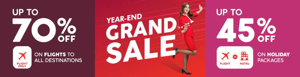 AirAsia Year End Grand Sale!