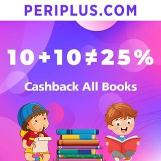 Periplus.com Promo 25% Cashback For All Books Only At Ekiosk & Periplus.com