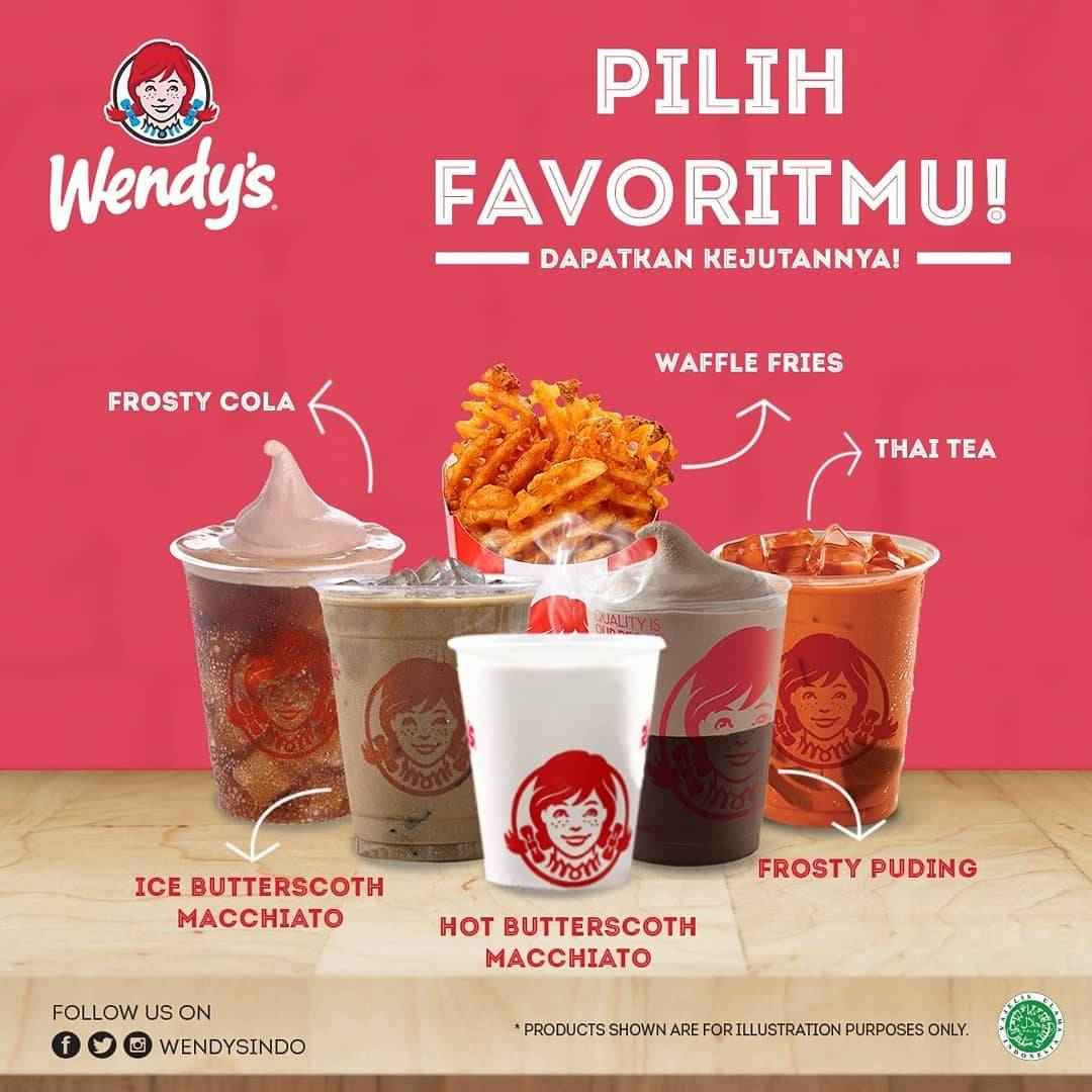 Wendy's Promo 10.10 Flash Deals, Harga Spesial Menu Favorit Pilihan Cuma Rp. 10.000 Saja