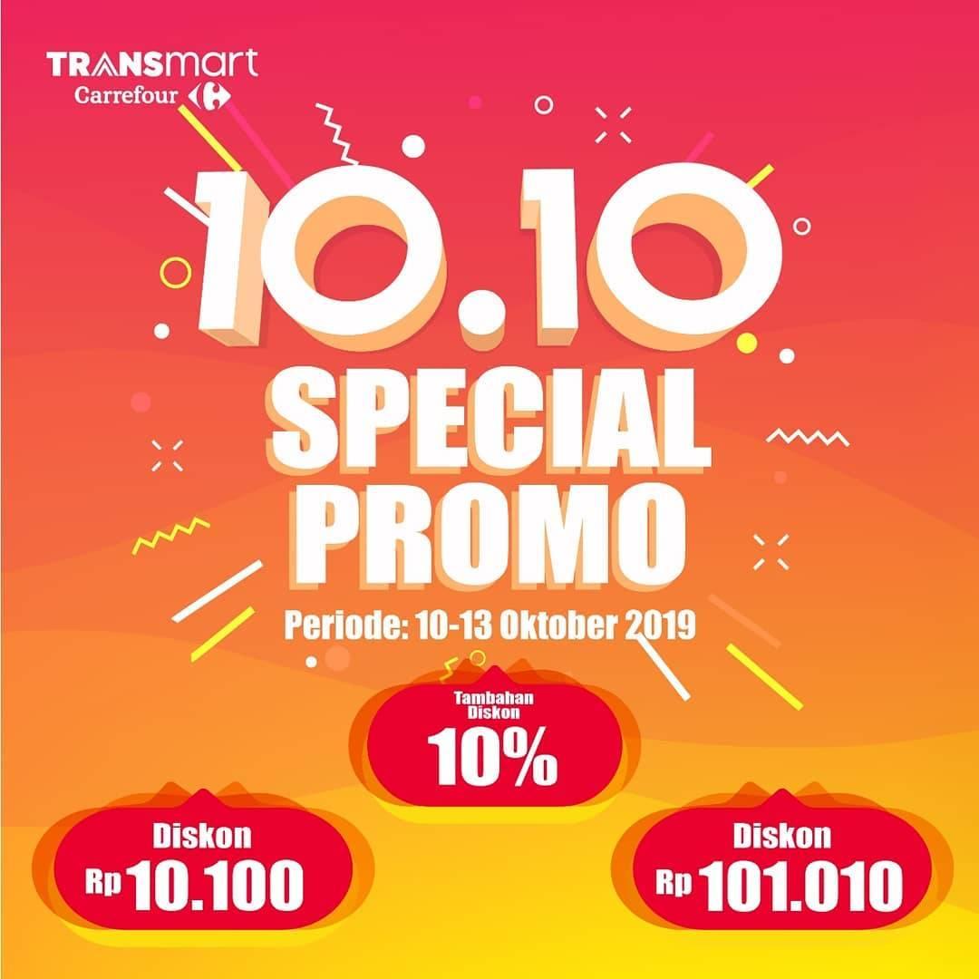Transmart Carrefour Promo Gadget & Elektronik Spesial 10.10