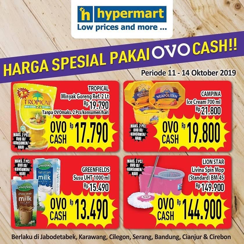 Hypermart Promo Harga Spesial Untuk Produk Pilihan Pakai Ovo Cash