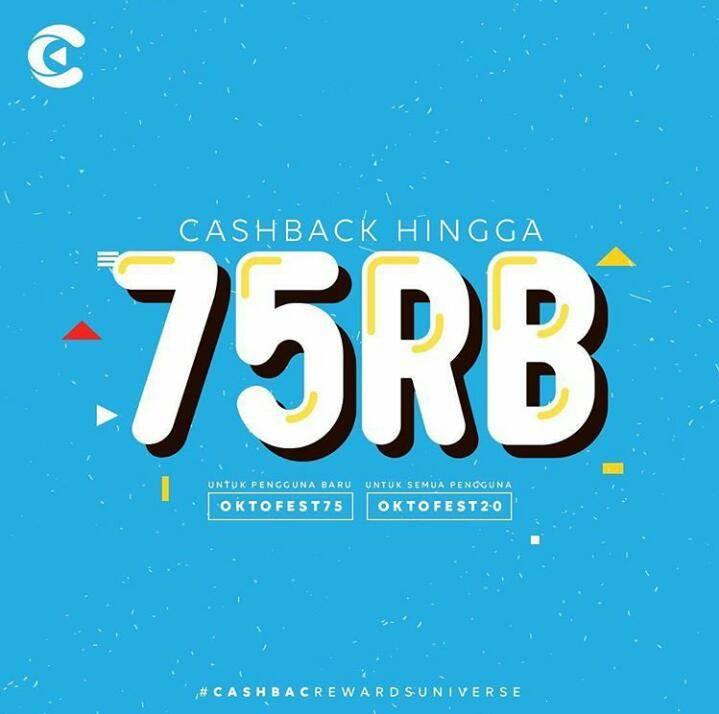 Sharetea Promo Oktofest – Cashback Hingga 75 Ribu Untuk Transaksi Dengan Aplikasi Cashbac