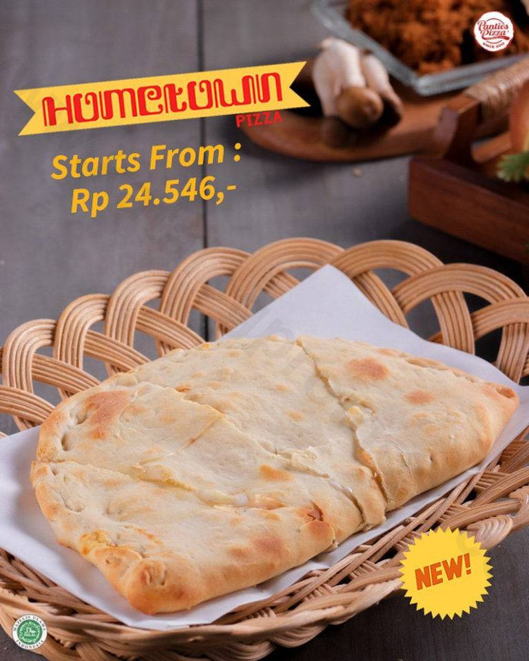 Panties Pizza Promo New Variant, Hometown Pizza Start From Rp 24.546,-