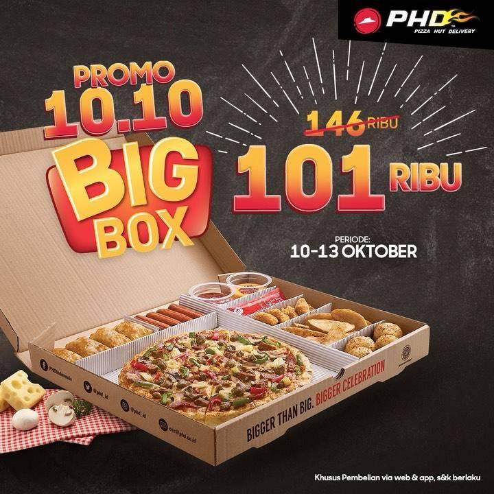 PHD Promo Big Box 10.10, Harga Spesial Paket Big Box Cuma Rp.101.000