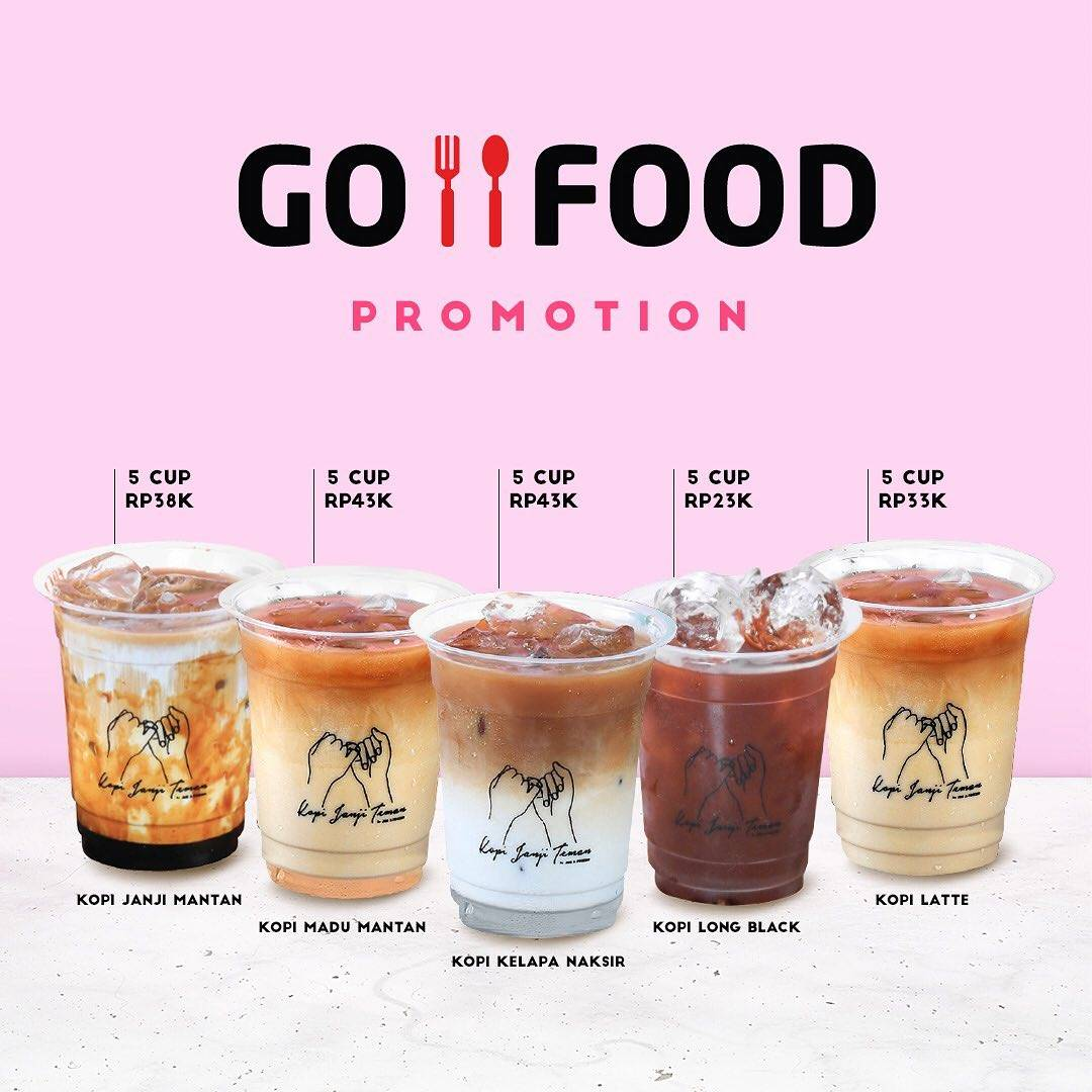Diskon Jus A Friend Promo GO FOOD 5 Cup Start From 23K