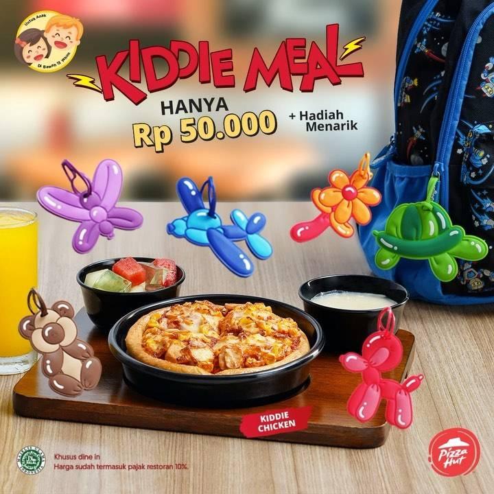 Pizza Hut Promo Paket Kiddie Meal Hanya Rp. 50.000 + Hadiah Menarik