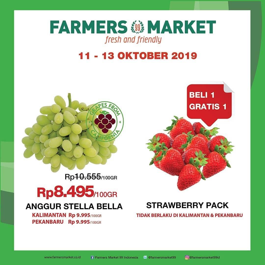 Katalog Farmers Market Promo Weekend Periode 11-13 Oktober 2019