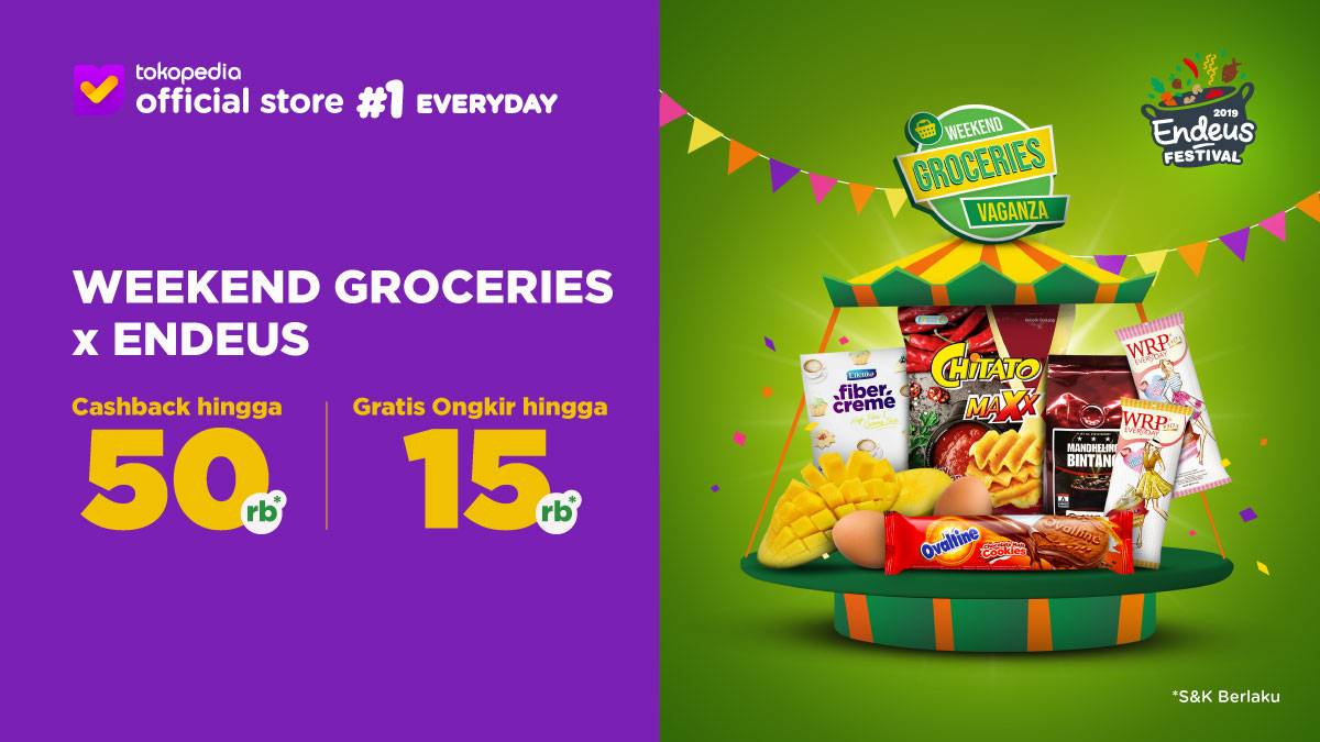 Tokopedia Promo Weekend Groceries