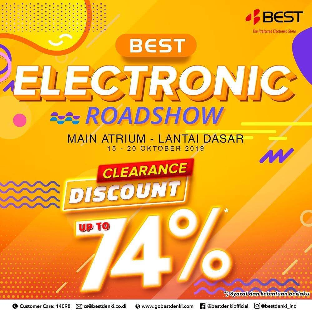 Best Denki Promo Best Electronic Clearance Up to 74% off