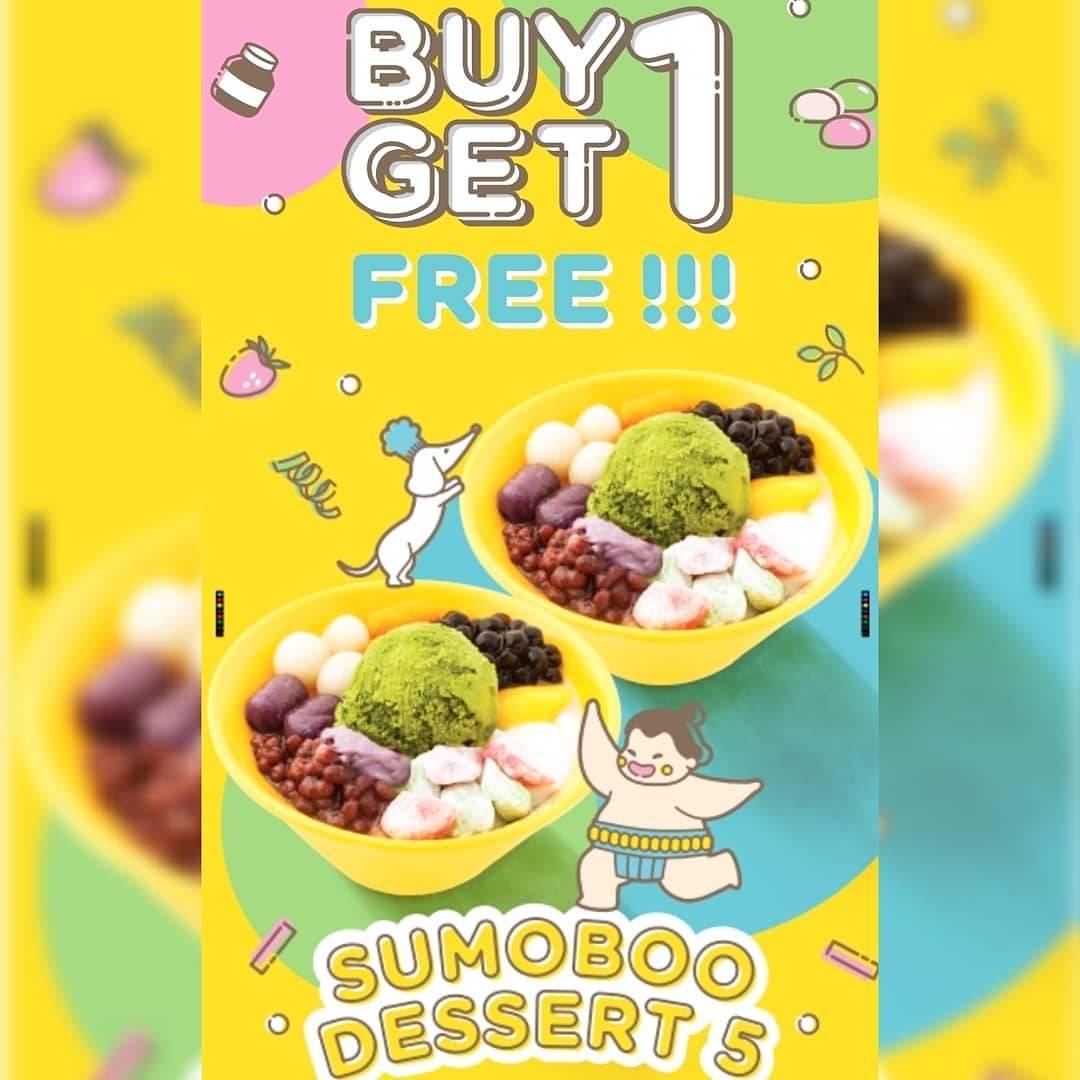 Sumoboo Promo Buy 1 Get 1 GRATIS Sumoboo Dessert 5