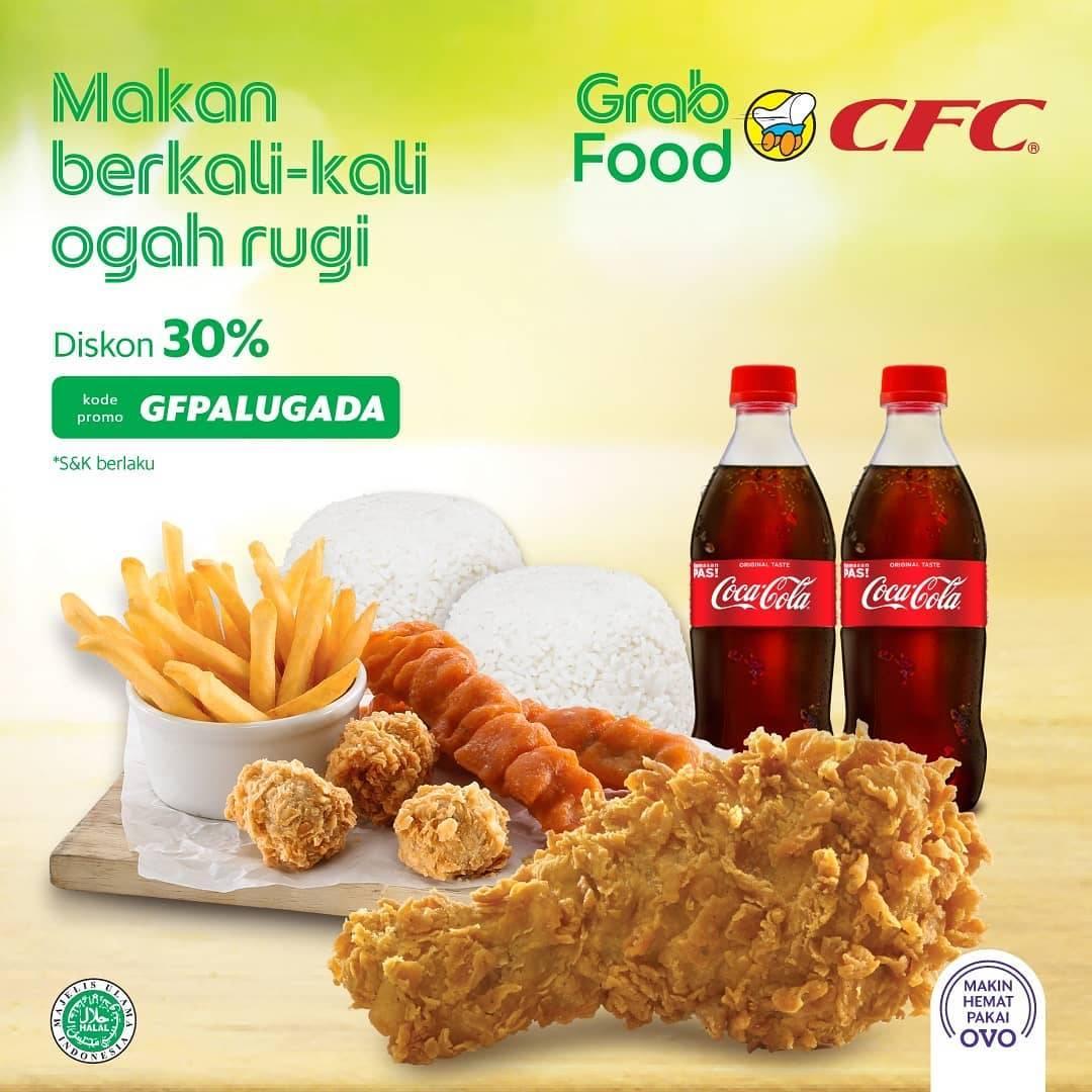 CFC Promo Paket Puas Diskon hingga 30%