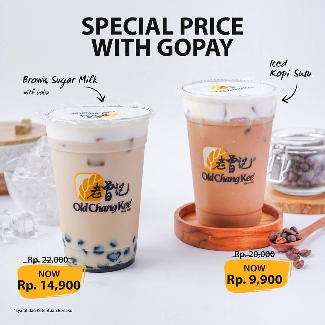 Old Chang Kee Special Price dengan Gopay mulai dari Rp 9.900