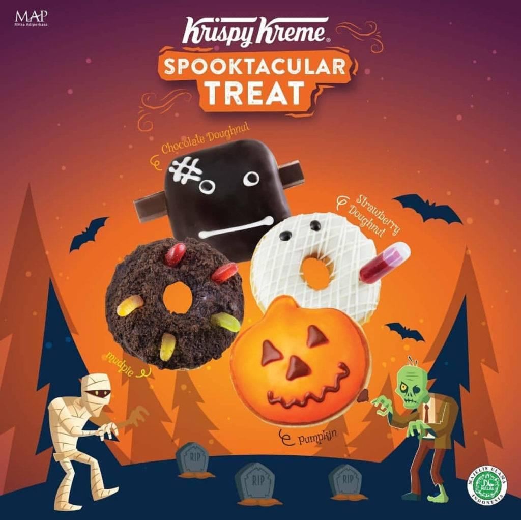 Krispy Kreme special Halloween edition Doughnuts