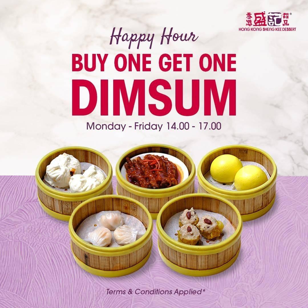 Hong Kong Sheng Kee Promo Happy Hour Beli 1 Gratis 1 Dimsum