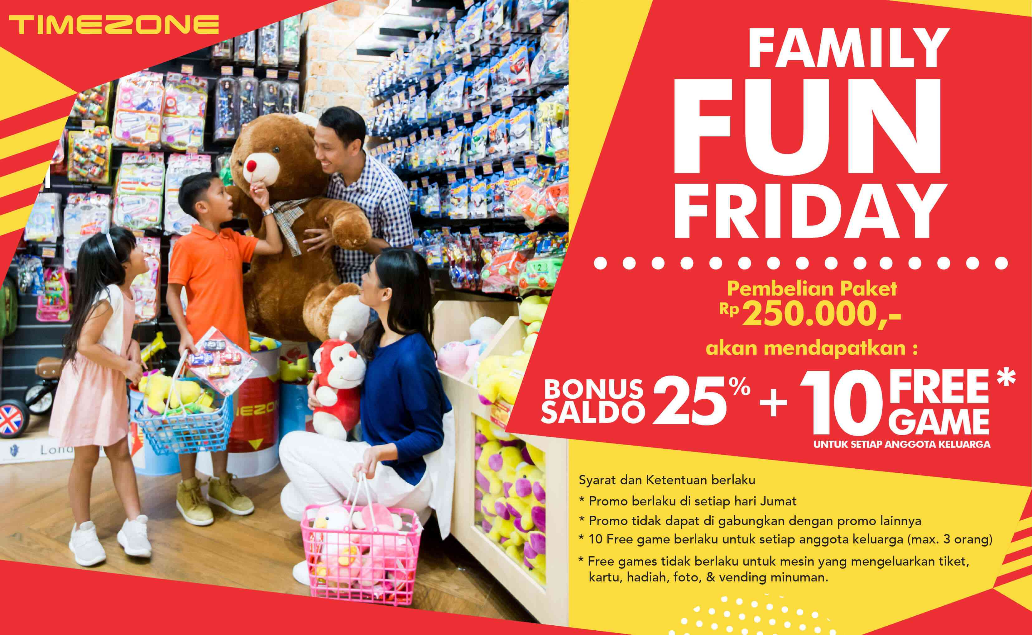 Timezone Promo Family Fun Friday