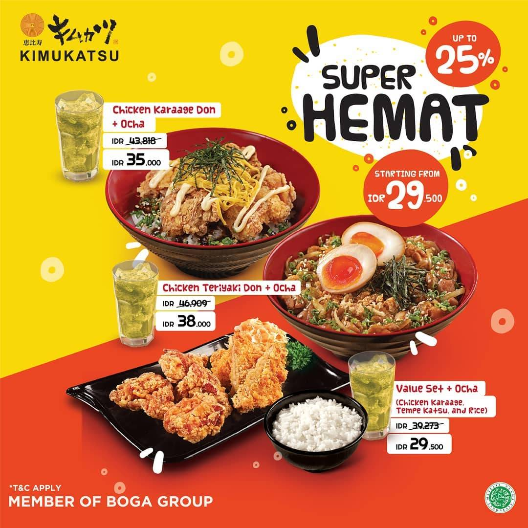 Kimukatsu Promo Super Hemat Disc Up To 25% Dengan Kupon LINE