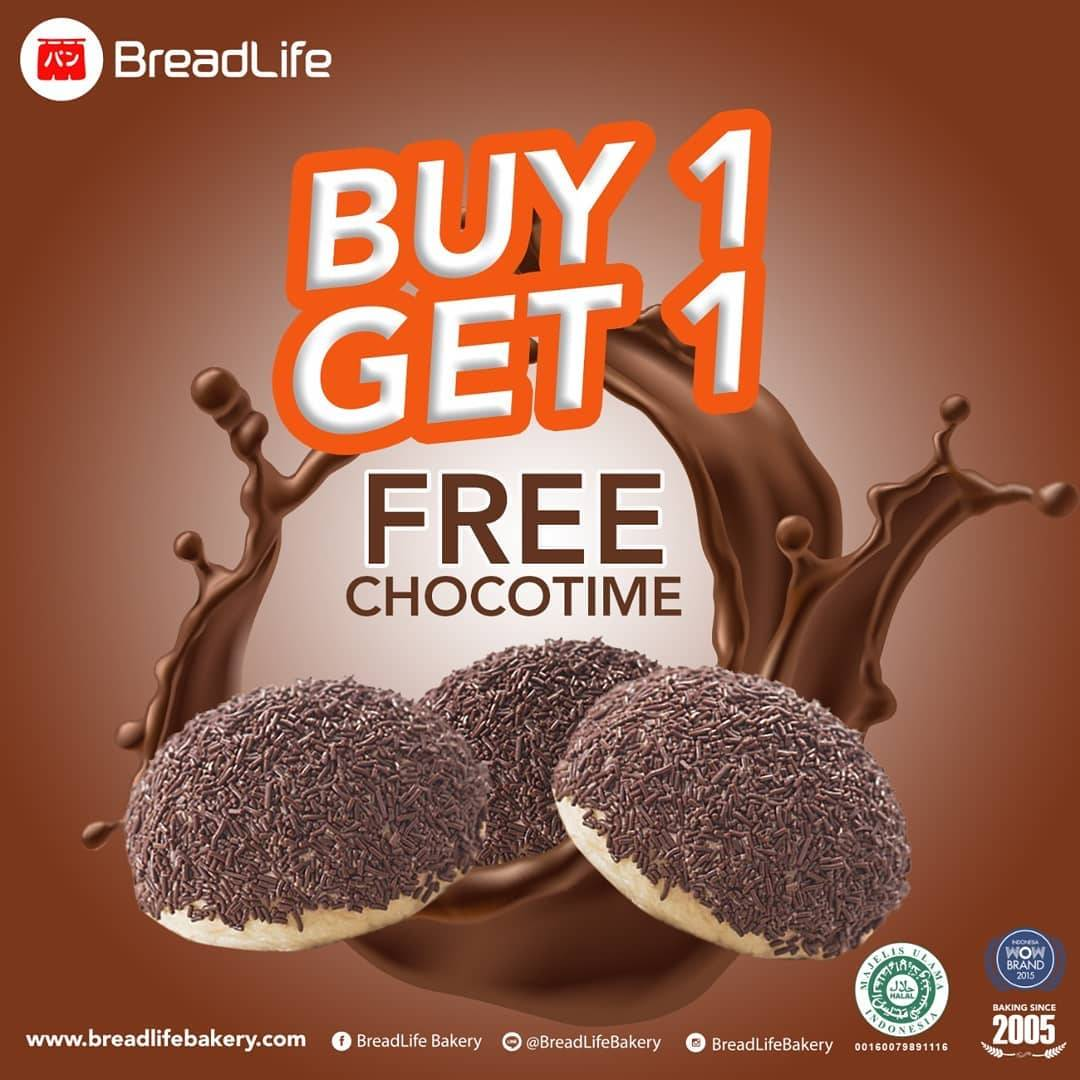 Breadlife Promo Buy 1 Get 1 FREE Chocotime
