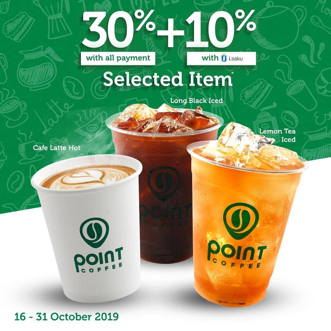 Indomaret Point Cafe Promo Diskon Sampai 40%