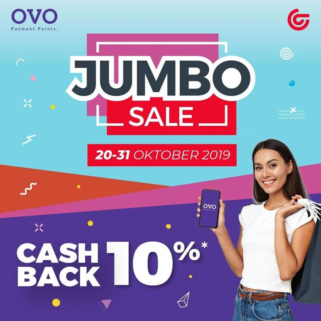 Matahari Department Store Jubo Sale Cashback 10% dengan OVO