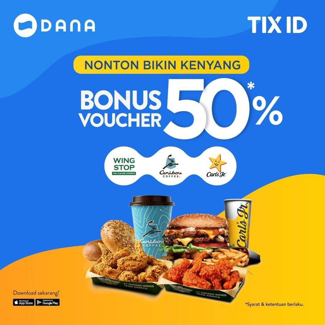 Promo Beli Tiket Nonton di Tix ID dapat Bonus Voucher 50%