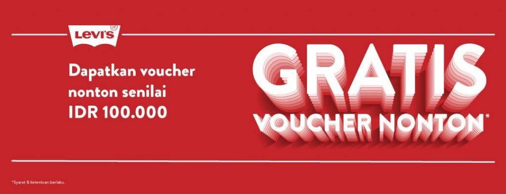Belanja di Levi's Gratis Voucher TIX ID Senilai Rp100.000