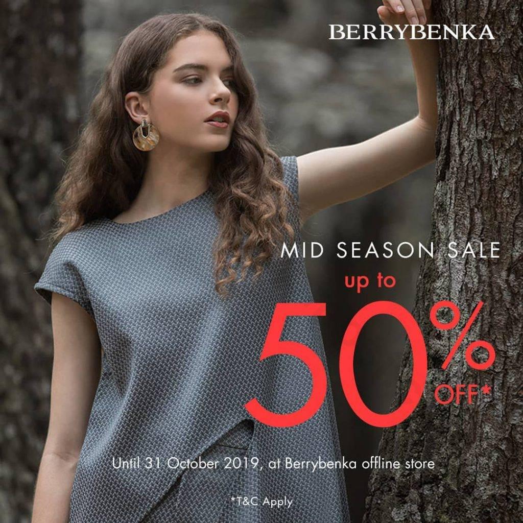 Diskon Berrybenka Promo Mid Season SALE Up to 50% off