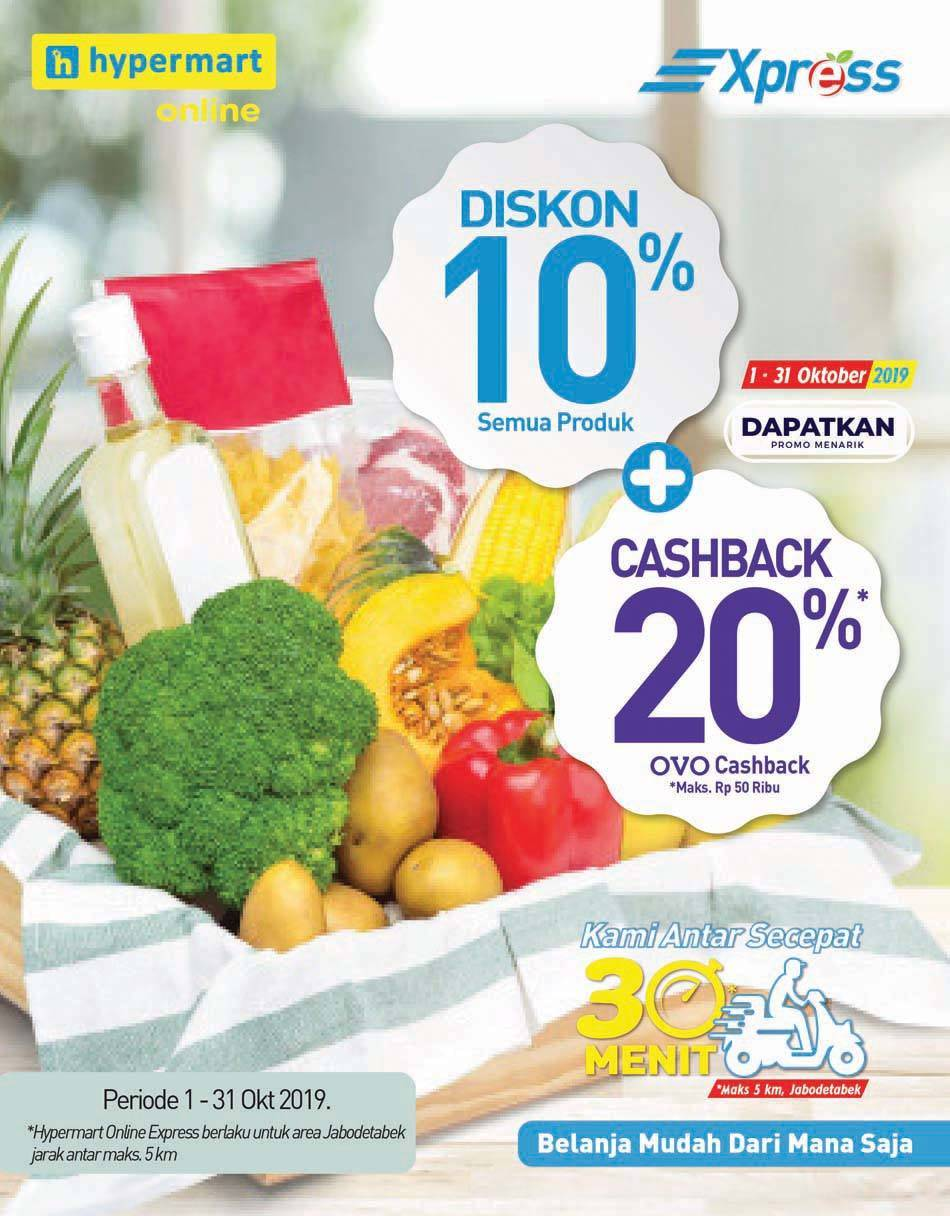 Promo diskon Katalog Hypermart terbaru periode 17-30 Oktober 2019