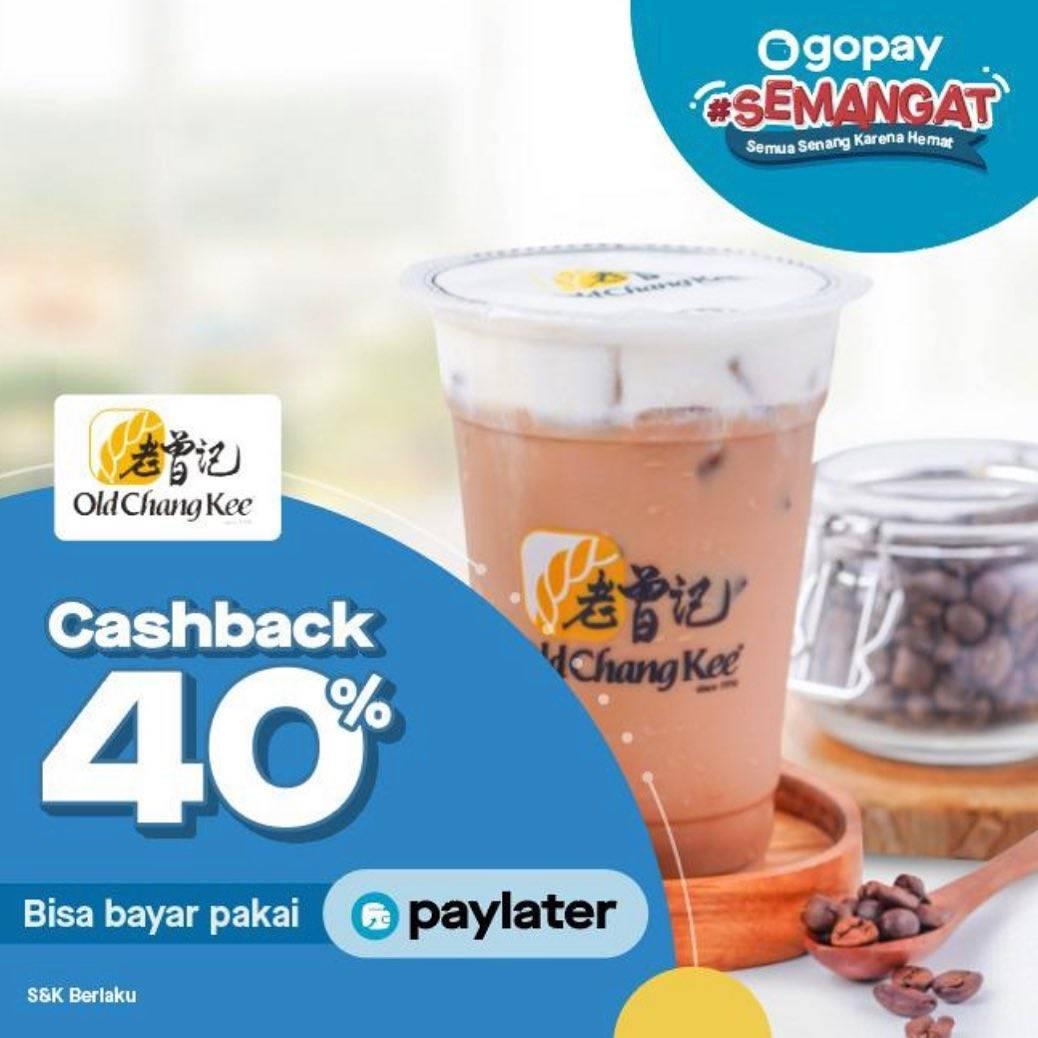 Diskon Old Chang Kee Promo Cashback 40% dengan Gopay