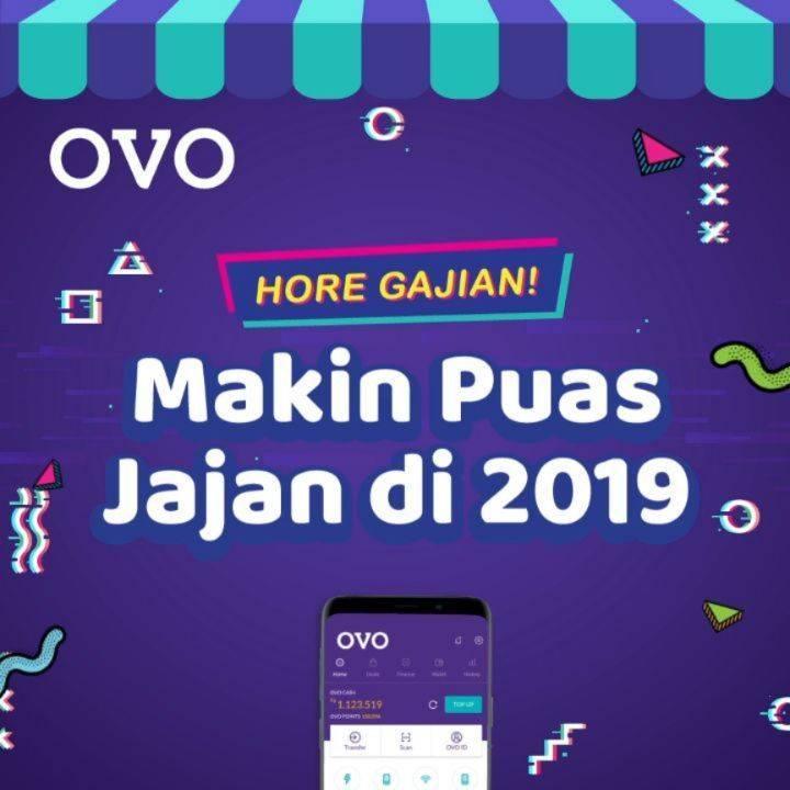 OVO Hore Gajian Oktober Cashback 60% di Merchant Favorit Pilihan