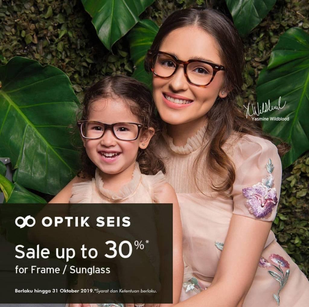 Optik Seis Promo Diskon hingga 30% untuk frame dan sunglass dengan kartu kredit dan debit BNI