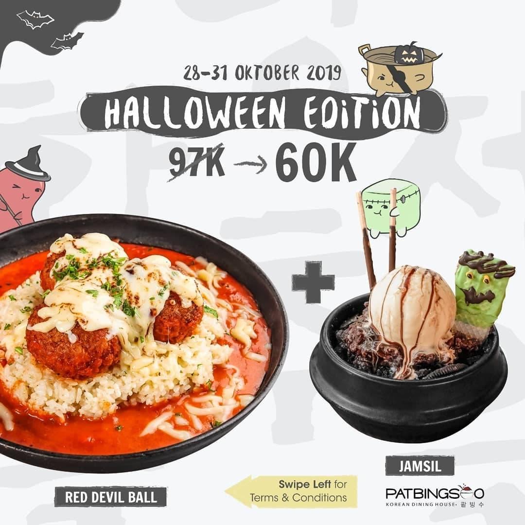 Patbingsoo Promo Paket Halloween Edition Hanya Rp. 60.000