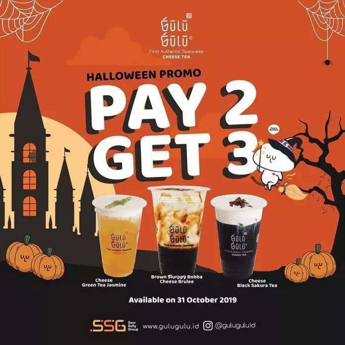 Diskon Gulu Gulu Promo Halloween Beli 2 Dapat 3