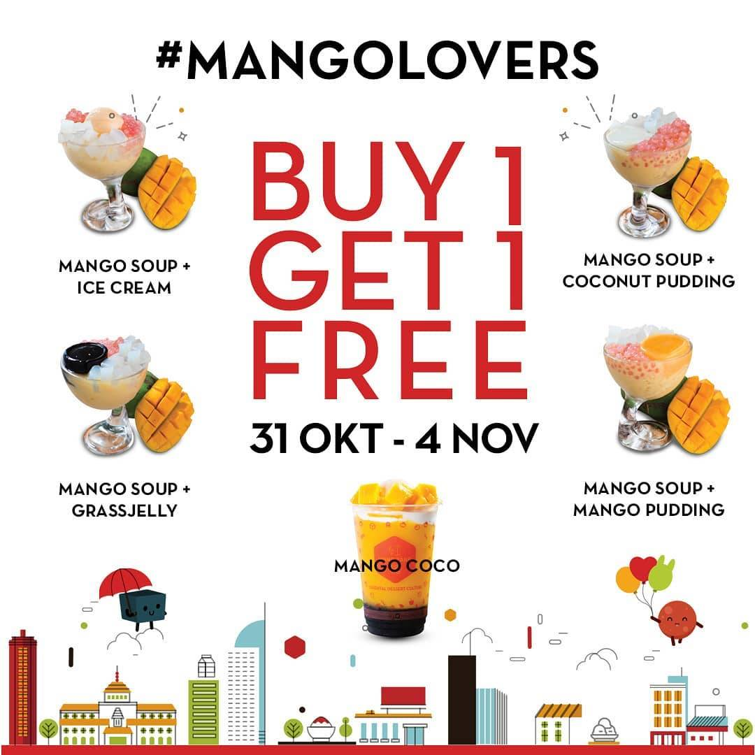 Hong Tang Promo Beli 1 Gratis 1untuk pembelian Mango series