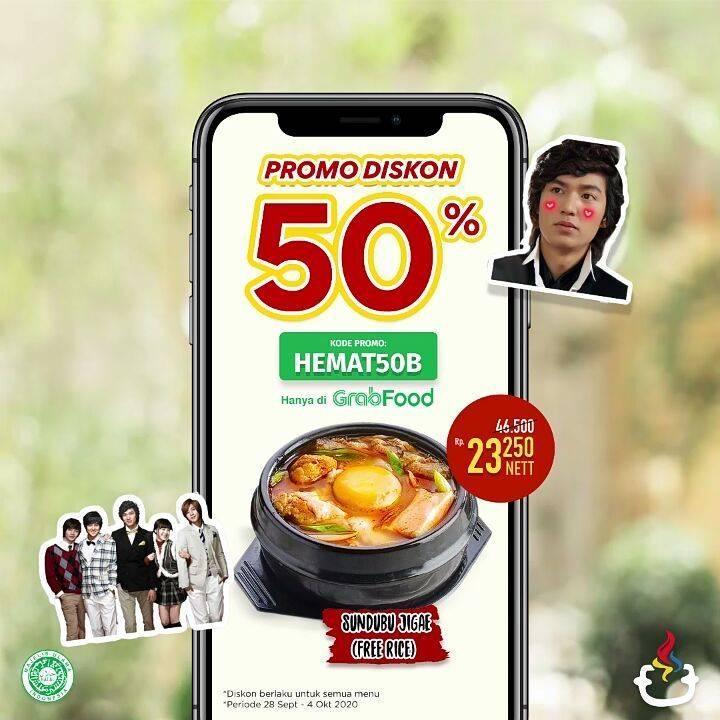 Diskon Mujigae Diskon 50% Di Grabfood