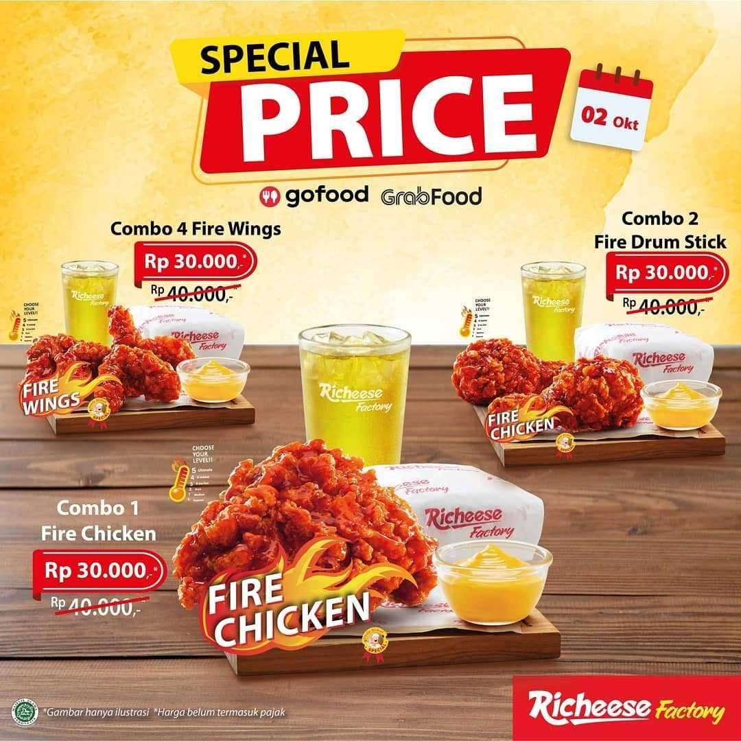 Promo diskon Richeese Factory Promo Special Price