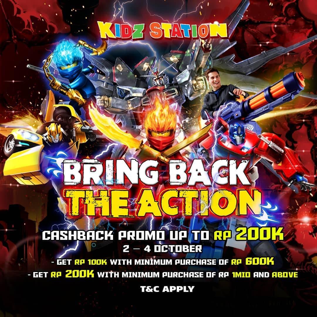 Diskon Kidz Station Cashback Up To Rp. 200.000