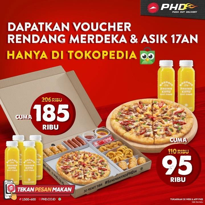 Diskon PHD Promo Voucher Tokopedia