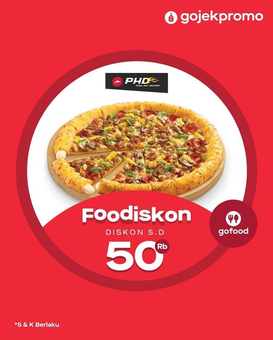 Promo diskon GoFood Foodiskon Hingga Rp. 50.000 Untuk Resto Pilihan