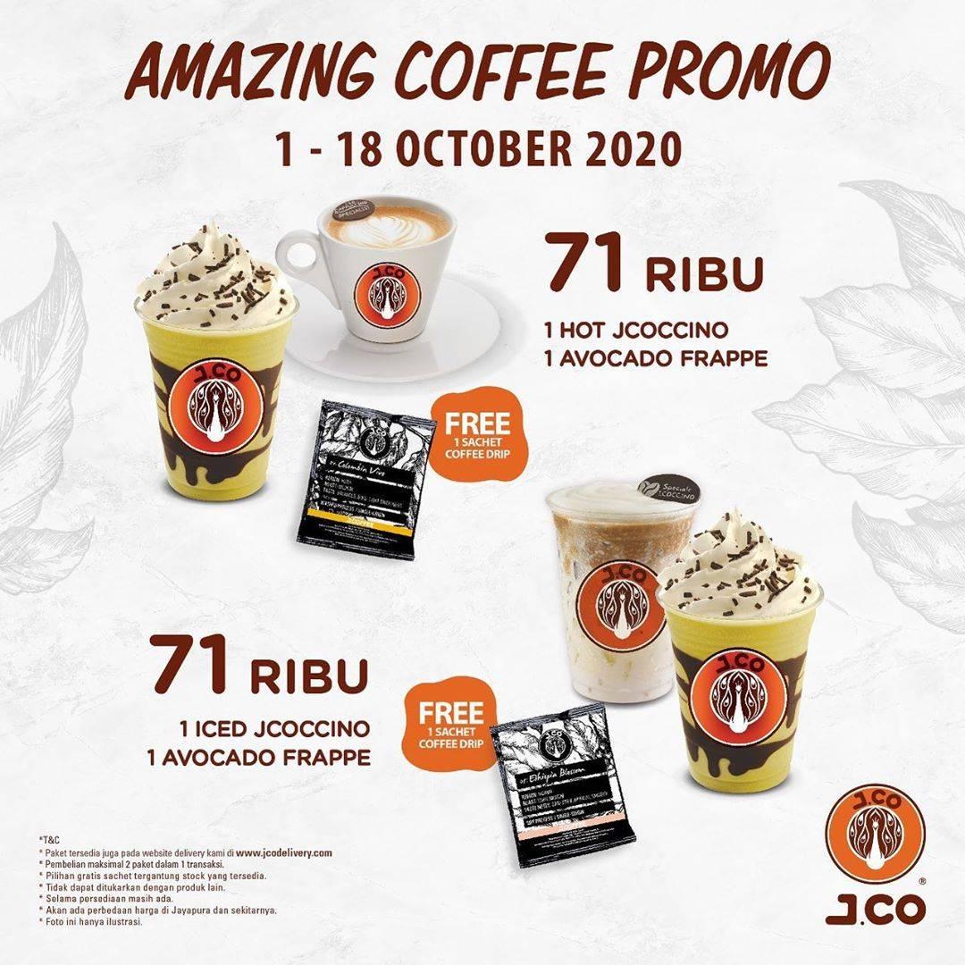 Diskon JCO Amazing Coffee Promo